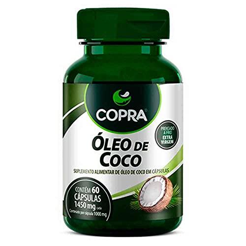 Óleo de Coco Extra Virgem Copra 60 Cápsulas de 1450Mg