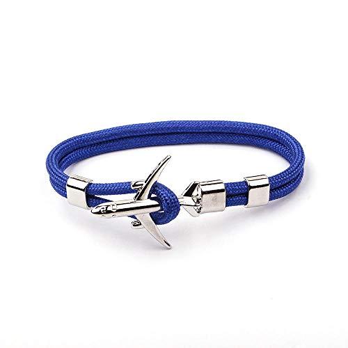 NKSS Mens Bracelets Fashion Men Women Anchor Bracelets Rope-7