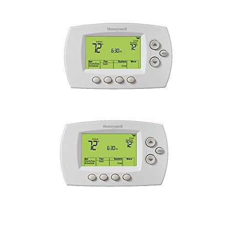 Honeywell RTH6580WF1001/W White 7 Day Programmable Wi-Fi Thermostat (Pack of 2)