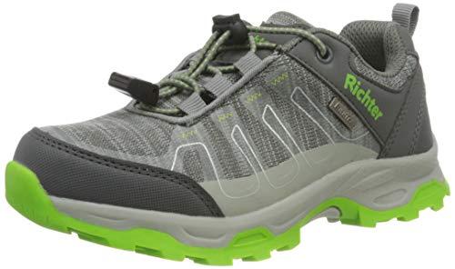 Richter Kinderschuhe TR-2 9345-8172 Walking-Schuh, 6302ash/Akz.n.Green, 34 EU