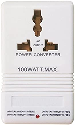100W 110V 120V A 220V 240V Intensificación Abajo Convertidor De Voltaje Transformador De Doble Canal Convertidor