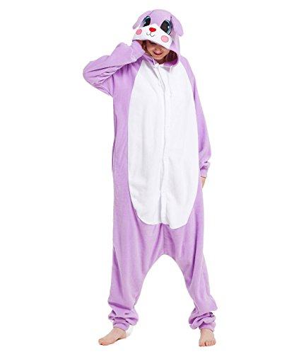 Yimidear Cosplay Ropa de Dormir, Unisexo Adulto Pijamas Traje de Dormir Disfraz de Animales Onesie (M,…