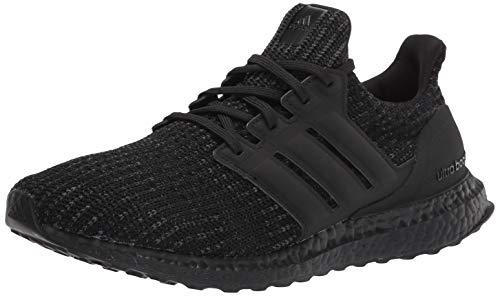 adidas Men's Ultraboost DNA Running Shoe, Black/Black/Grey, 5