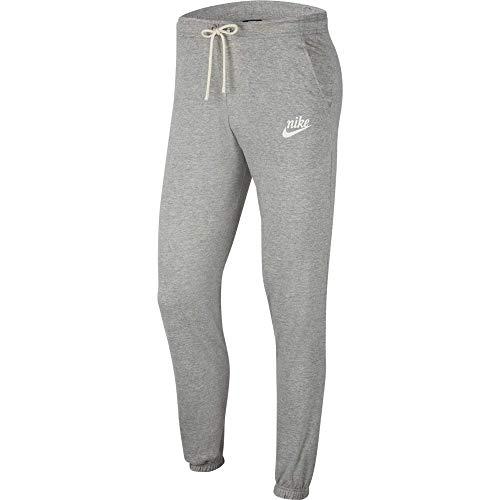 Nike Damen W NSW Gym VNTG Pant Sport Trousers, dk Grey Heather/(sail), L