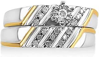 NATALIA DRAKE Genuine Diamond Engagement Ring Set