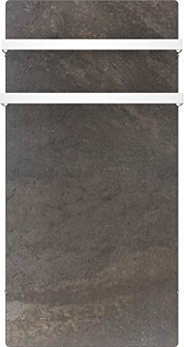 sèche serviettes à inertie en pierre Naturelle - gamme Terra - 1000 WATTS - Noir