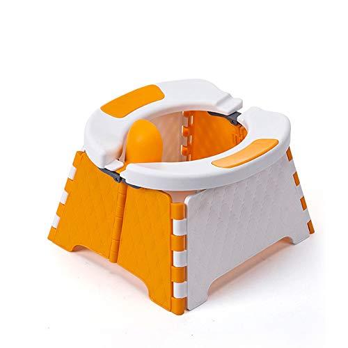 BSTCAR Vasino Portatile Per Bambini, Vasino Da Viaggio Pieghevole, Riduttore WC Per Bambini