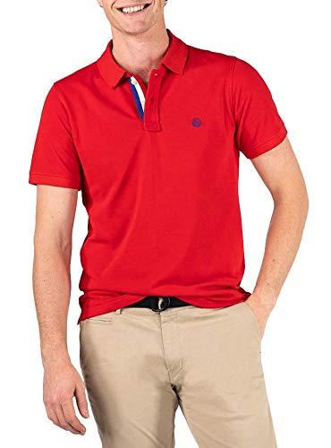 El Ganso 1100s200011 Polo, Rojo (Rojo 0011), Small (Tamaño del Fabricante:S) para Hombre