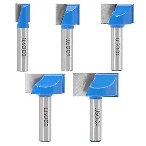 WSOOX 8mm Schaft Bottom Cleaning Router...