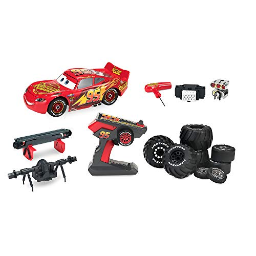 Disney Lightning McQueen Build to Race Remote Control Vehicle Multi