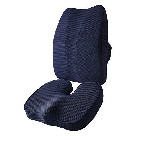JQQJ Comfort schuim stoel kussen Latex pak stoel kussen rug kussen Lumbar ondersteuning kussen zachte en ademende Lumbar ondersteuning kussen