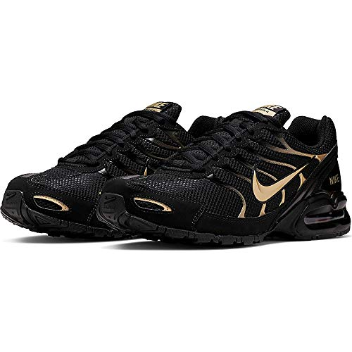 Nike Men's Air Max Torch 4 Running Shoe (8, Black/Gold)