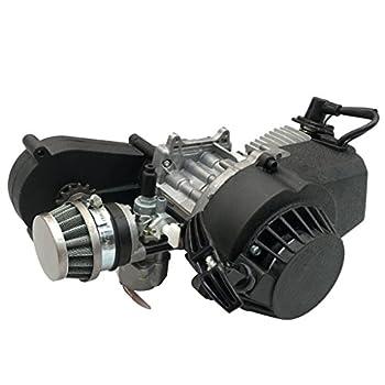 TDPRO 2-Stroke Engine Motor Gear Box for 47cc 49cc 50cc Mini Pocket Gas G-Scooter ATV Quad Bicycle Dirt Pit Bikes
