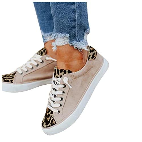 koperras Frauen Turnschuhe Leinwand Schuhe Sommer Freizeitschuhe Slip On Sneakers für Outdoor Fitness Gym Walkingschuhe Bequem Leichte Sportschuhe Joggingschuhe 37-42