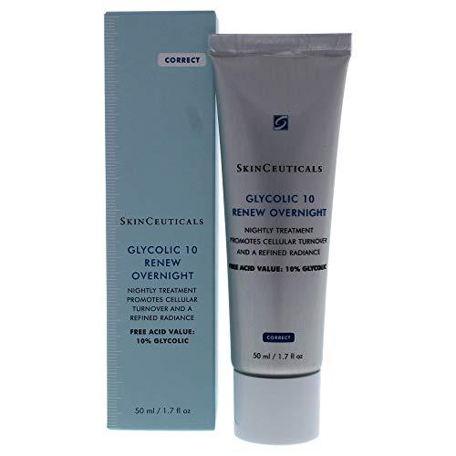 Creme Antienvelhecimento Skinceuticals Glycolic 10 Renew Overnight com 50ml