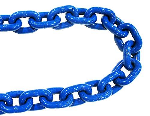 1/2' x 20' G100 Lifting Chain Bulk Plain Piece Heavy Duty Grade 100 Rigging