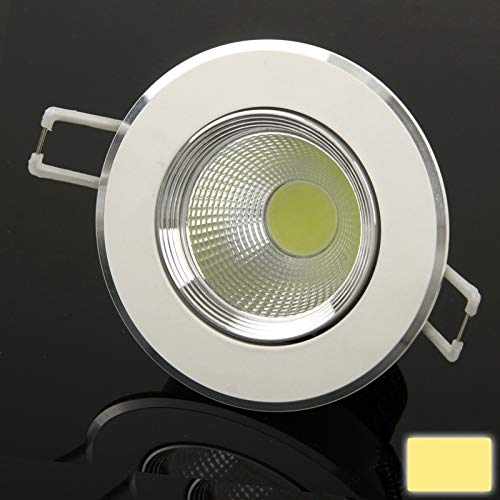 Cicongzai 3W Wit Down Light/LED plafondlampen/LED Days lantaarns hoogwaardige gloeilamp, lichtstroom: 330LM