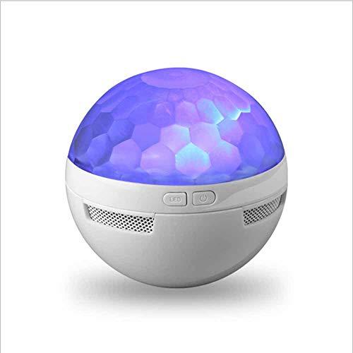 LMJ Outsider Bluetooth-Lautsprecher, Mini-Bluetooth-Lautsprecher des bunten Stadiumslichts, tragbares geführtes drahtloses Audio im Freien
