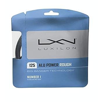 Luxilon Big Banger ALU Power Rough 16 Gauge - 125 Polyester  Poly  Tennis Racquet String 2-Pack  2 Sets Per Order