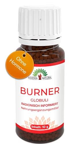 Adema Natural® BURNER Globuli - Natürlich - Extrem & MEGA SCHNELL - Globuli mit 10g Inhalt