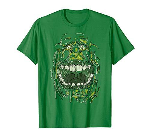 Ghostbusters Slimer Face Costume Maglietta