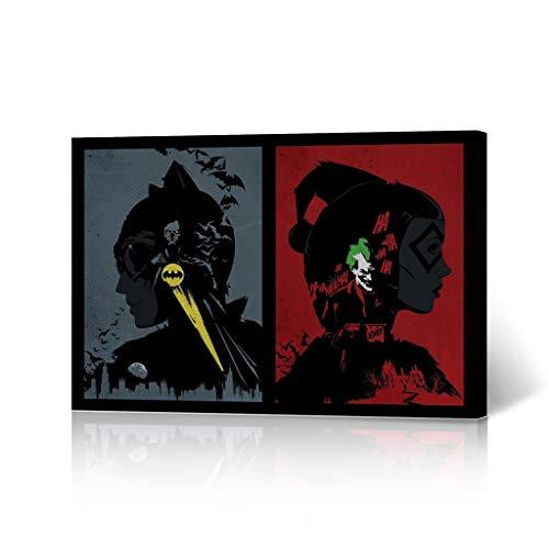 41GCpWQ466L Harley Quinn and Batman Posters