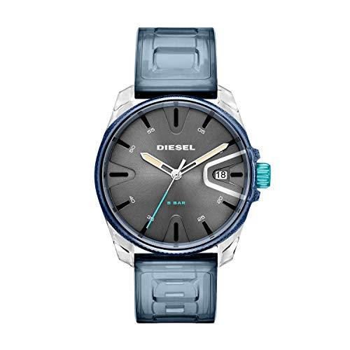 Diesel Herren Analog Quarz Uhr mit PU Armband DZ1868