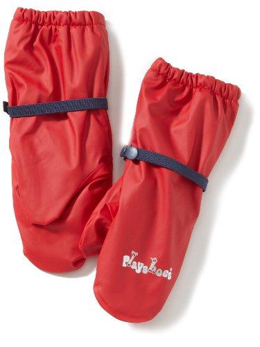 Playshoes Jungen Handschuh Fleece-Futter, (Rot)), 116-140