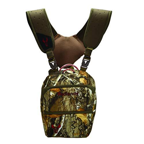 Badlands Camouflage Tactical Bino X Hunting Binocular Case – Hydration Compatible, Realtree Edge