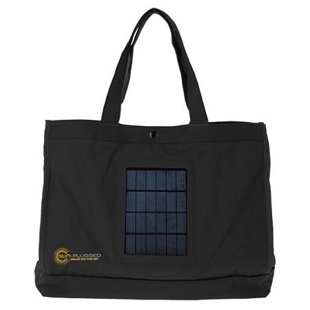 Sun-Plugged Solar Tote Bag