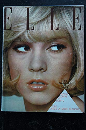 ELLE 1011 06 mai 1965 Sylvie VARTAN Cover + 4p. Dany Saval Madeleine Robinson- 230 pages FASHION VINTAGE