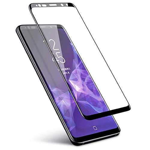 Thorax Pellicola per Samsung S9 Copertura Completa Full Glue Antiurto AntiGraffio Resistente Come Vetro Temperato Protettivo Flessibile Compatibile con Cover Protezione Schermo ad Adesione Piena