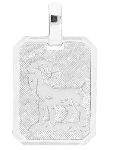 MyGold sterrenbeeld hanger raam (zonder ketting) sterling zilver 925 zilver 21mm x 12mm dierenriemteken horoscoop zilveren hanger Gaudino A-03303-S923-Wid