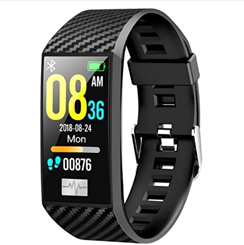 HPYHPY Smart Arm d mit Herzfrequenz-Monitor Blautdruck Fitness Tracker Arm d Smart Uhr schwarz