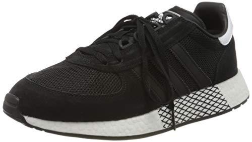 adidas Marathon Tech, Zapatillas Hombre, Negro Core Negro Core Negro FTWR Blanco 10013523, 44 2/3 EU