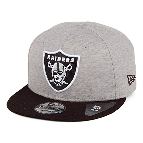 New Era Gorra Snapback 9FIFTY NFL Jersey Essential Oakland Raiders Gri