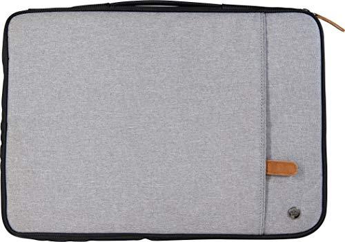 PKG Toronto Canada 13/14-inch Padded Laptop Sleeve - Gray/Black