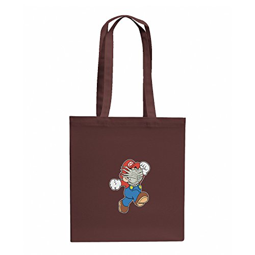 Nerdo Mario Face Hug - stoffen zak