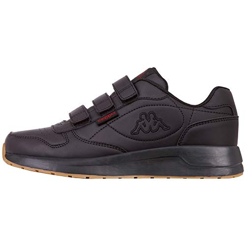 Kappa VL, Sneakers Basses Mixte, (Black 1111), 41 EU
