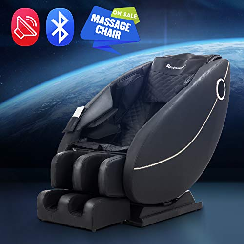 BestMassage Zero Gravity Full Body Electric Shiatsu Massage Chair Recliner with Built-in Heat Foot...