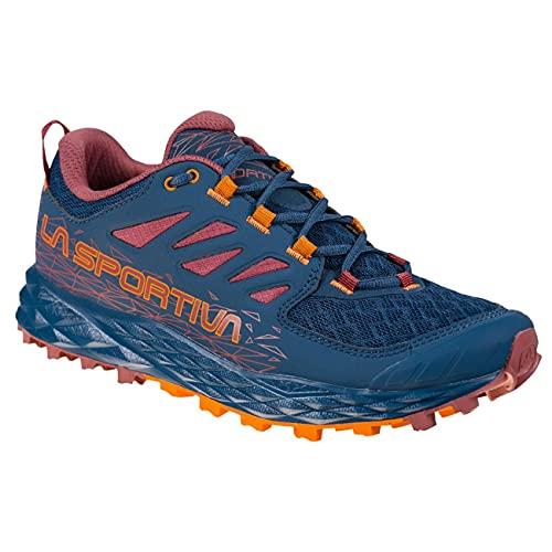 LA SPORTIVA Lycan II Woman, Zapatillas de Trail Running Mujer, Denim/Rouge, 40 EU
