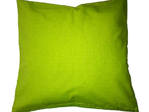LI.G. Cuscini Decorativi per Divano Colorati Vari Colori CM 40X40 (Verde Acido)