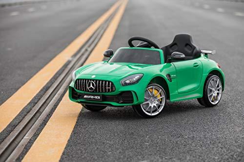RC Kinderauto kaufen Kinderauto Bild 1: Toyas Mercedes Benz GTR AMG Sportwagen KINDERFAHRZEUG KINDERAUTO Grün*