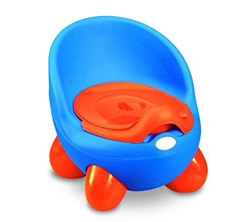 363324 Orinal para niños POTTY BABY TOILET práctico seguro y cómodo con tapa - Azul