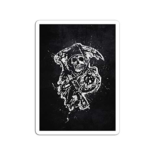 """BreathNenStore Sticker Television Show Sons of Anarchy Tv Shows Series (3"""" x 4"""", 3 PCS/Pack)"""