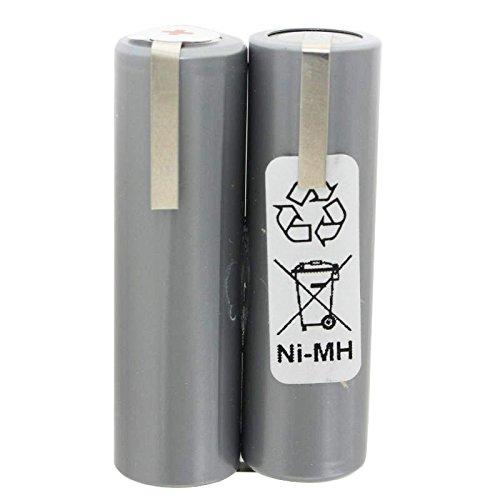 Akku passend für Haarschneider 2,4 Volt NiMH Mignon AA 2200mAh