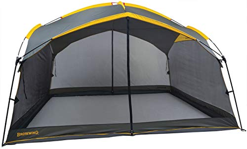Browning Camping Basecamp Screen House, Charcoal/Gold, One Size