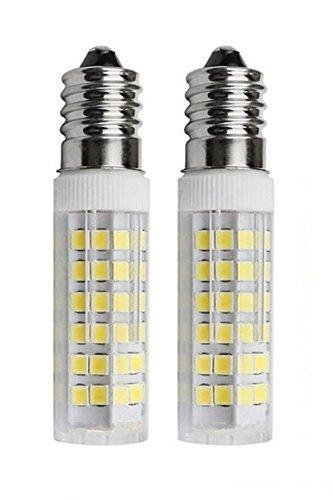 SFTlite [2er Pack cool weiß] 5W E14 LED Lampe 75 SMDs Nicht Dimmbar - Ersatz für 45W Halogenlampen - 500lm - 6000K - 360°Abstrahwinkel - LED Leuchtmittel SES E14,Edison Schraube LED Birnen AC220-240V