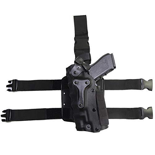 Vioaplem Disparos Caza De Combate Táctico De Airsoft Ejército Funda Protectora Arma De La Pistola De La Pistolera En Forma For El GL 17, Colt 1911, P226, HK USP, M9