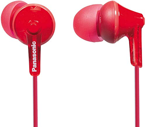 Panasonic RP-HJE125E-R Auriculares Boton Cable In-Ear